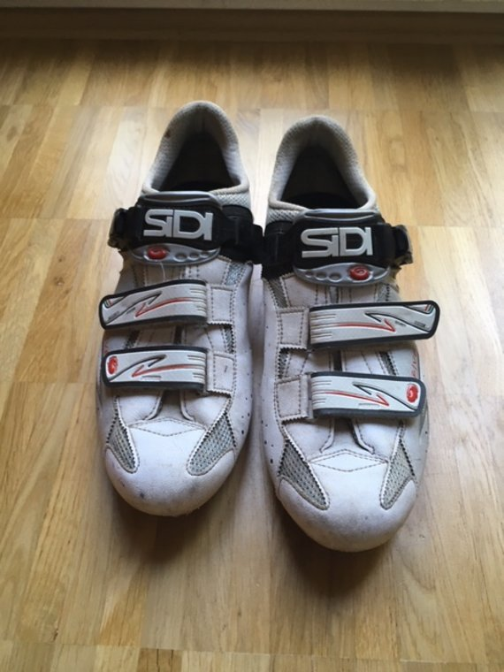 Sidi Genius 5 Five Carbon Rennradschuhe Größe 45