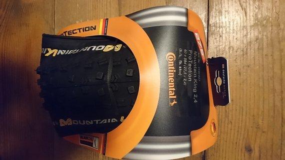 "Continental MountainKing II 2.4 Protection 27,5"" BlackChili"