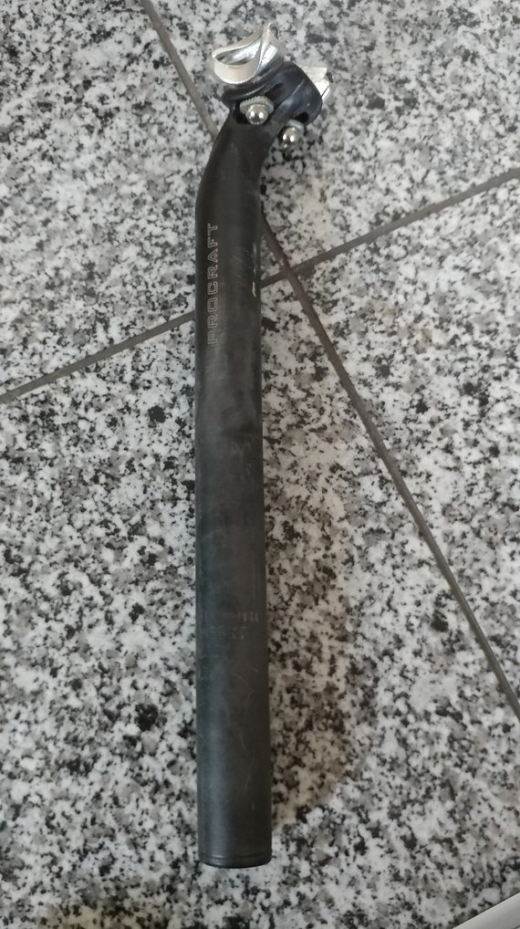 Procraft Classic 2Bolt Sattelstütze 31,6mm 350mm
