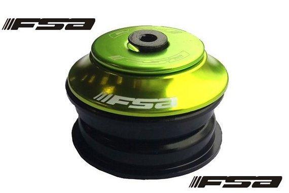 """FSA NR.11 für 1 1/8"""" press-fit semi-integriert (ZS44) grün/sw"""