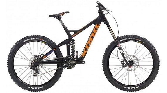 Kona Supreme Operator 26'' Carbon/black/team orange/ Neu