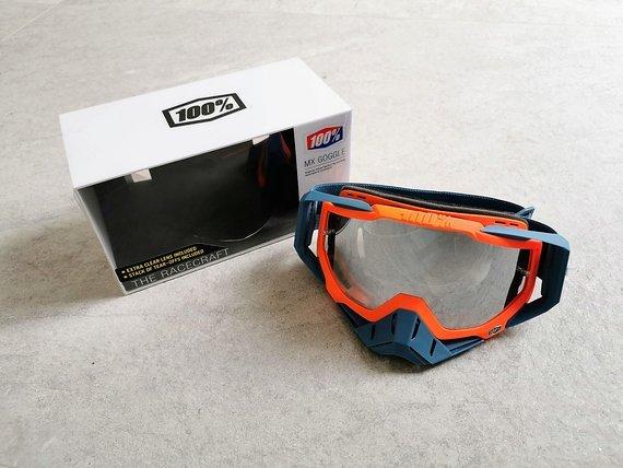 100% Racecraft Goggle Kilroy - mirror lens | NEU