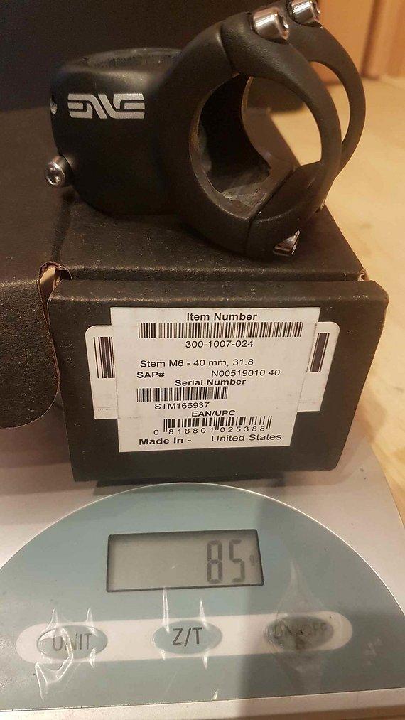 Enve 2019er M6 Vorbau 31.8/40mm, Neu!