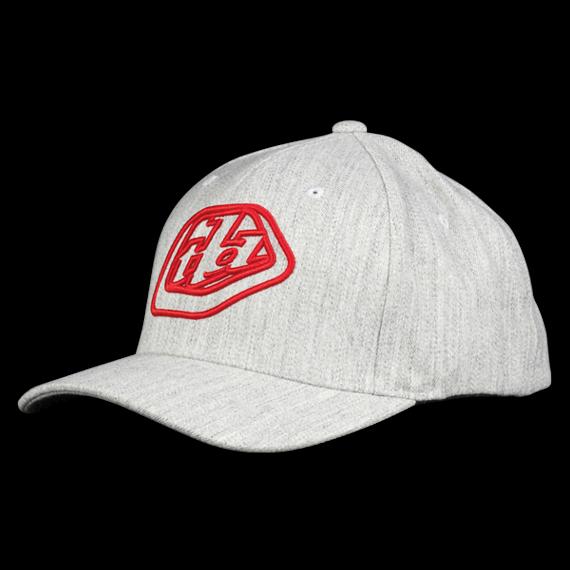 Troy Lee Designs Gr. L/XL ALWAYS HAT HEATHER GRAY