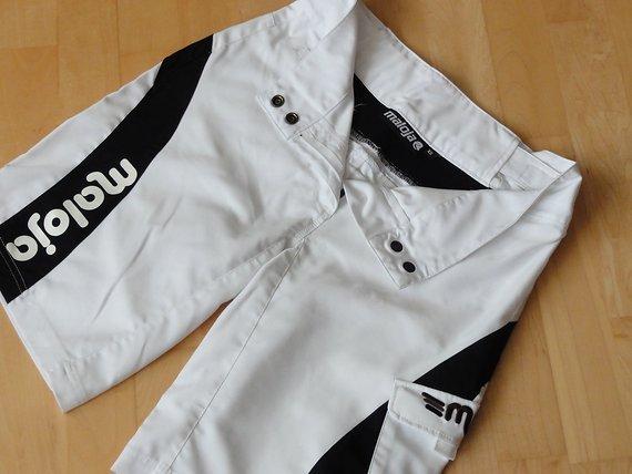 Maloja Bike Shorts XS, schwarz weiß, Damen XS