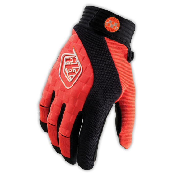 Troy Lee Designs Gr. M - SPRINT GLOVE NEON ORANGE