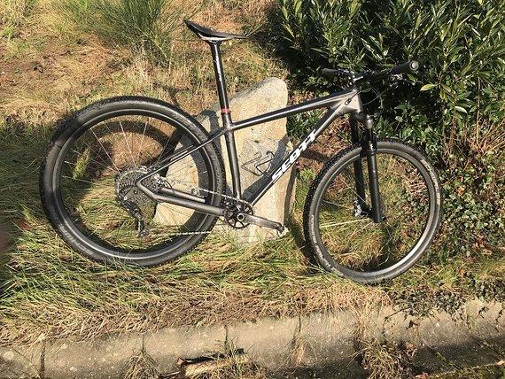 """Scott Scale RC 7,1kg Gr. M """"Bike der Woche"""" XTR, Vollcarbon"""