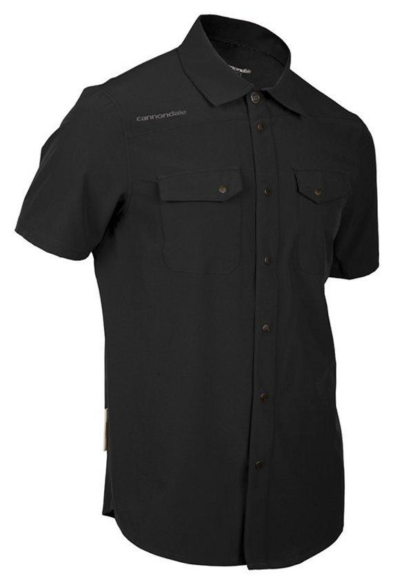 Cannondale Shop Shirt (Schwarz), Gr. S (USA) / Gr. M (EU) (NEU & OVP mit Etikett)