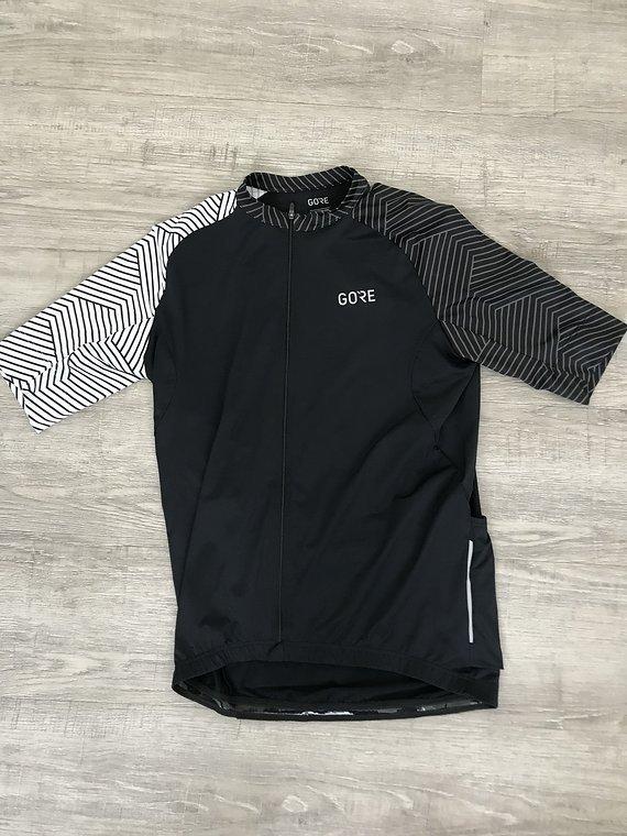 Gore Wear C5 Optiline Trikot Gr. M schwarz/weiß