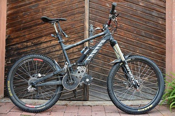 Canyon Torque mit EGO-Kit 2400W