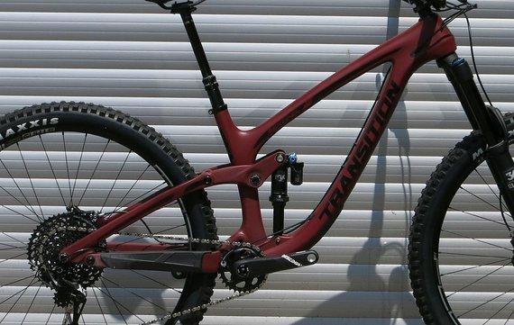 Transition Bikes 2019 Sentinel Carbon Rahmenkit inkl. Fox DPX2 Performance Elite - Größe XL
