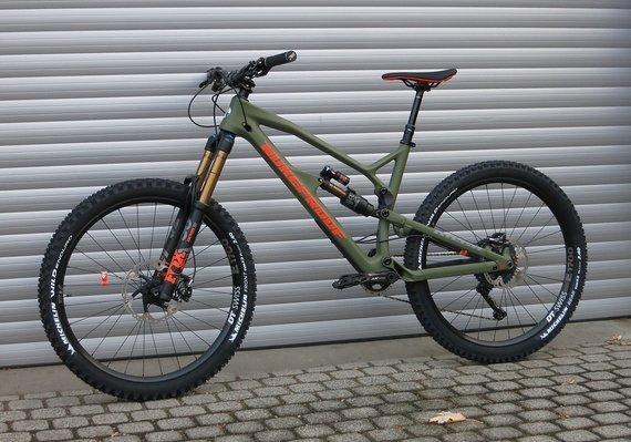 "Nukeproof Mega 275 Factory Carbon  2019 Komplettbike 27,5"" - Größe S"