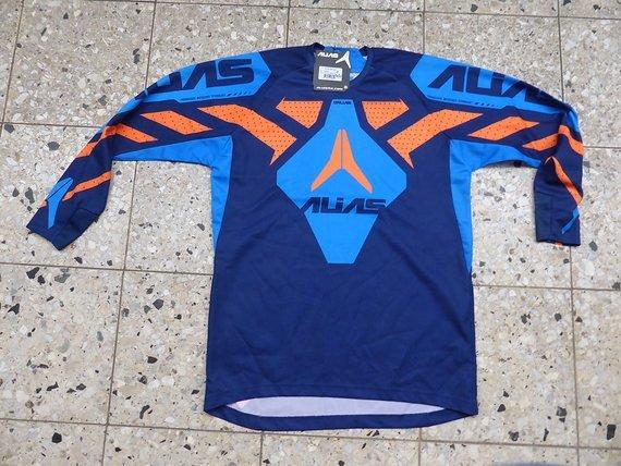 Alias A1 DH MX Jersey blau/orange *NEU*