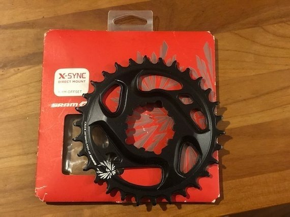 Sram Direct Mount X-Sync 2 Gx Eagle 30 Zähne 6mm offset