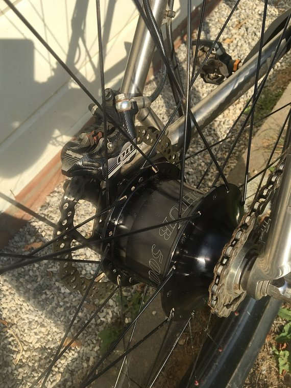 Travers Titan 29+ Travers Angus, Rohloff, Carbon Traumrad zum Bikepacking