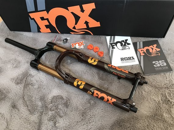 "Fox 36 Limited Heritage Edition ""Root Beer"" 29"" / 160mm *NEU*"