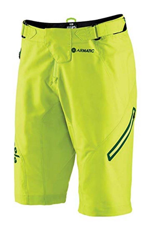 100% Airmatic LE Short Lime Gr. 32 *NEU*