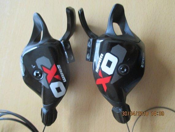 SRAM Schalthebel XO Trigger 10fach und X0 Trigger 2fach