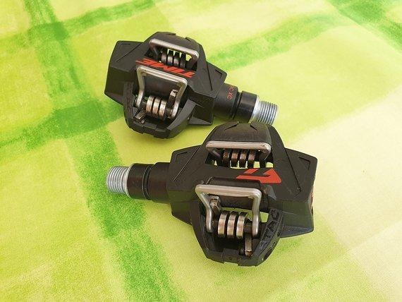 Time ATAC XC8 Carbon Pedal - schwarz / rot