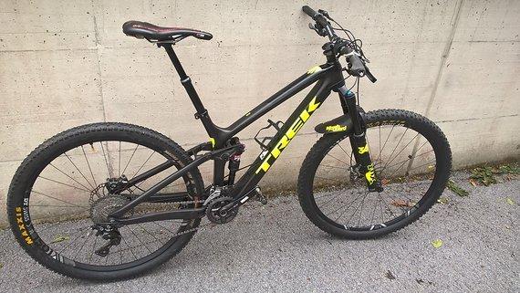 Trek Fuel EX 9.8 Carbon, Größe 18,5