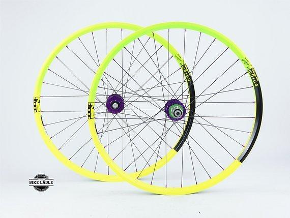 NS Bikes Enigma Laufradsatz mit Hope Pro 4 Evo Naben / Bike-Lädle Laufradbau