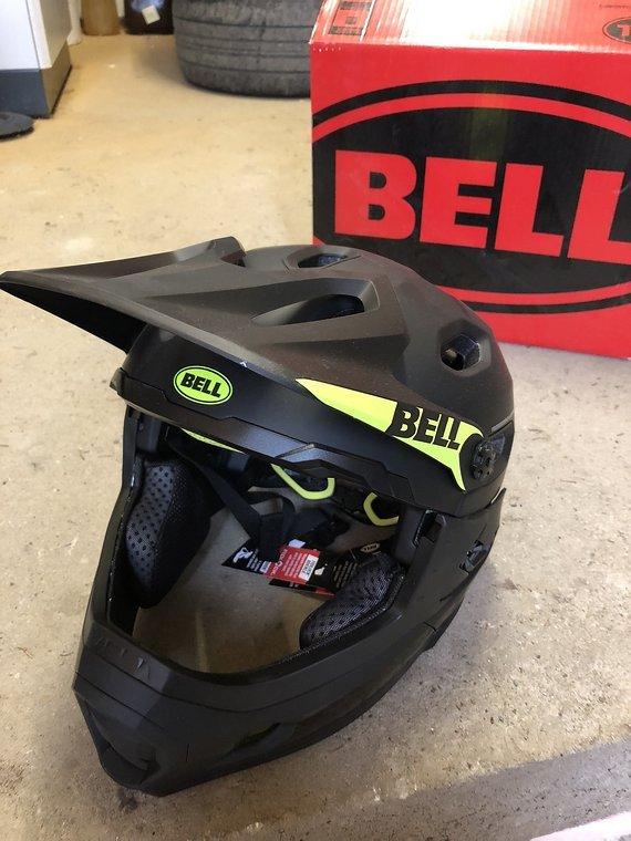 Bell Helmets Super Dh Mips - Schwarz Größe L