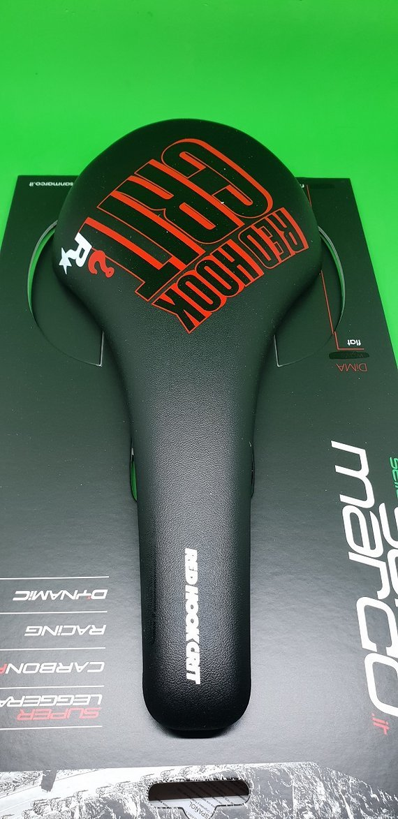 Selle San Marco Regale Racing Sattel Red Hook Neu