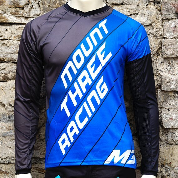 Mount Three Indie Rider Blue // 1x Größe L // Race Cut