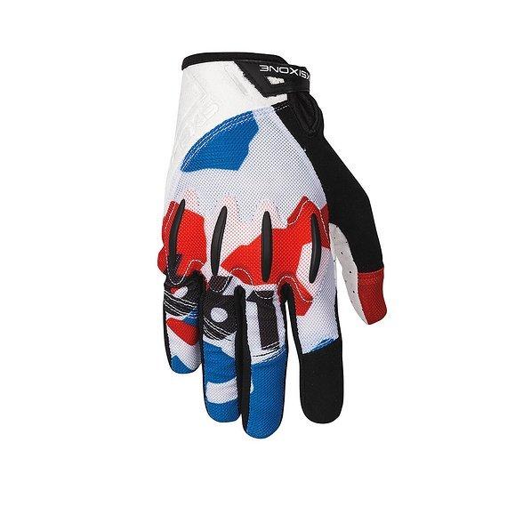 661 SixSixOne EVO II Gloves / Handschuhe RWB M