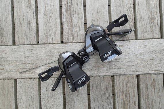 Shimano SET XT 11-fach Rapidfire PLUS SL-M8000 Hebel