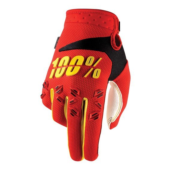 100% Airmatic Gloves Red Gr. XL *NEU*
