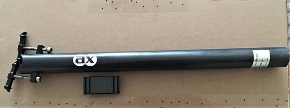 Ax Lightness Europa Cabon Sattelstütze 30,9mm x 405mm 138gramm Gebraucht
