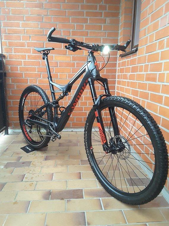 Specialized Stumpjumper FSR Carbon 29 S-Works Größe XL sehr guter Zustand viele Neuteile!