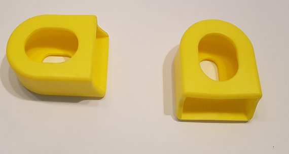 Silicone flex-protect Kurbelschützer Crank Boots *gelb*
