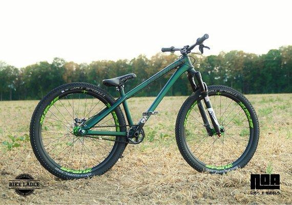 Dartmoor Two6Player Custom Dirt / Street Pumptrack-Bike Rock Shox Pike DJ , Spank Spike 33 ,Sram NX / Noahubs