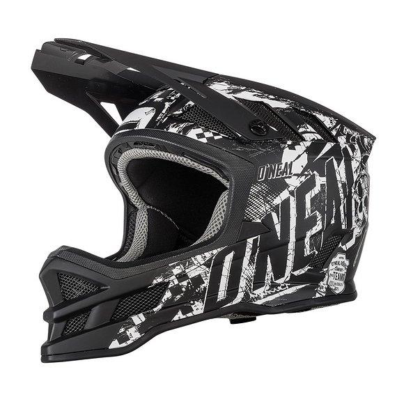 O'Neal Blade Fullface Helm black/white Gr. L *NEU*