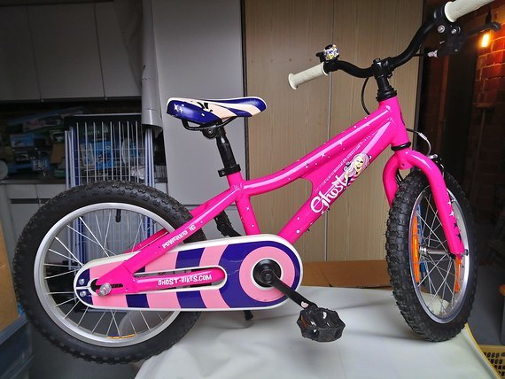 "Ghost Powerkid 16 Girl Ghost Powerkid 16 pink, 16"" Kinderrad girl"