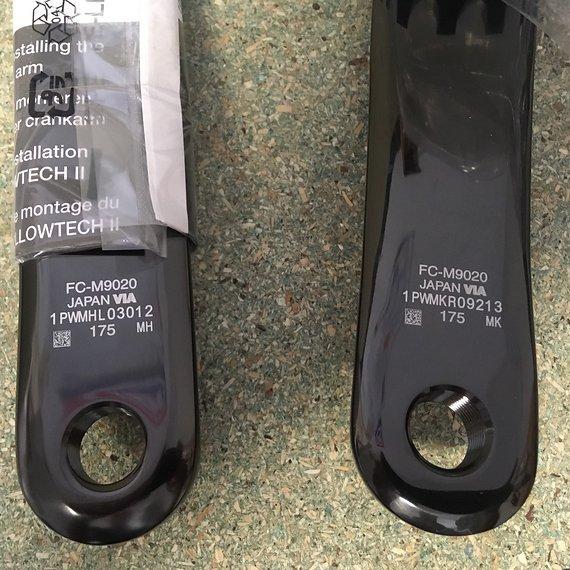 Shimano XTR FC-M9020, 36T, 175mm