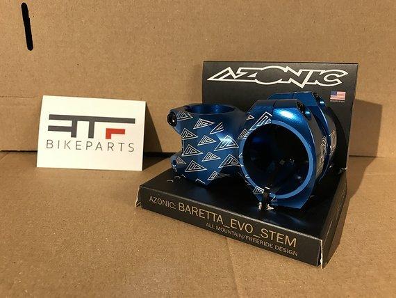 Azonic Baretta EVO FAT35 Vorbau blau *NEU*
