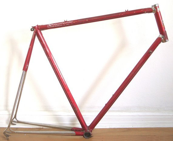 Colnago Master Rahmen, 1. Generation 1984, für Bastler, Rahmenbauer