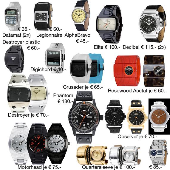 Vestal Uhren, NEU & OVP (aus Geschäftsaufgabe)