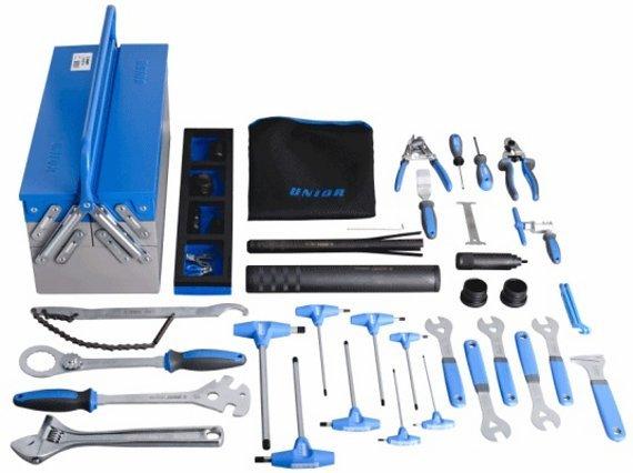 Unior 37-teiliges Bike-Werkzeug-Set