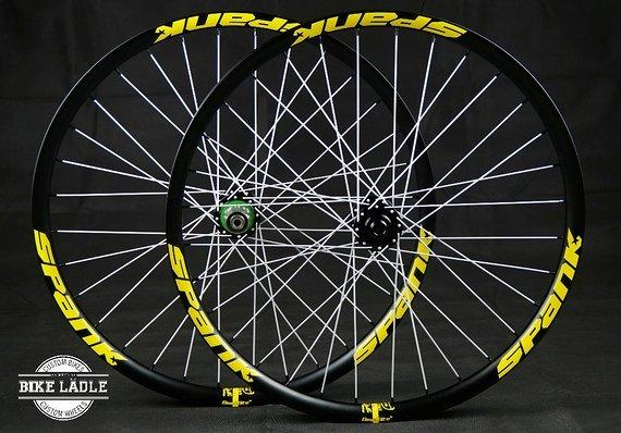 """Spank Spike 33 TEAM / Race Laufradsatz 26""""/27,5"""" mit Hope Pro 4 Evo Naben / Bike-Lädle Laufradbau"""