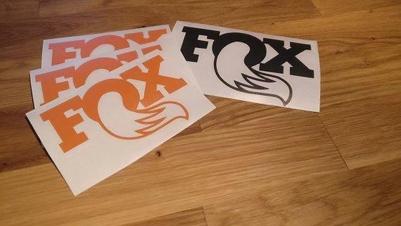 Fox Aufkleber FOX und Ähnliche
