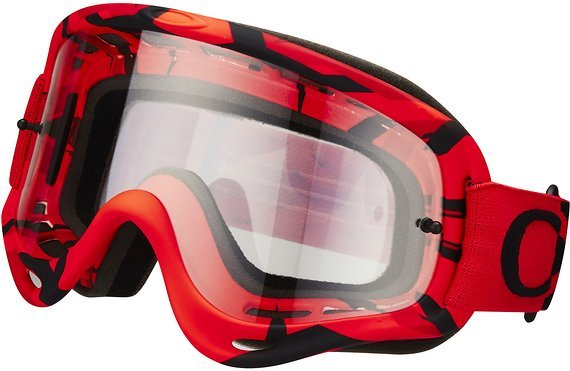 Oakley O-Frame MX Intimidator Goggle Red / Clear