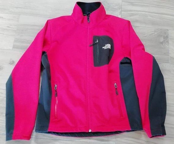 The North Face Men's Apex Soft Shell Jacke Größe M rot-schwarz