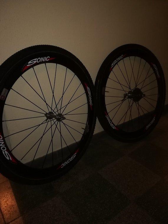 Sonic Carbon LRS, Sonic Hyper, für Rennrad/Cyclocross