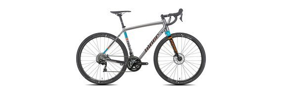Niner Bikes RLT9 R7000 Gravel Cross Bike (FORGE GREY/ORANGE/TEAL)