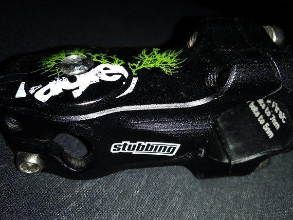 Ragley Stubbing Vorbau 60/50mm schwarz