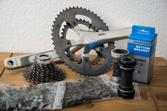 Rennradteile Ultegra FC-R700, Kassette, Ketten 9/10fach